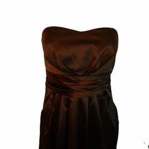 Trixxi Black Strapless Dress, Size 9, Junior